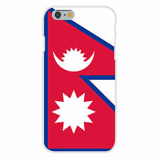 Nepal World Country National Flag Fits iPhone 6+ Plastic Snap On Case Cover New