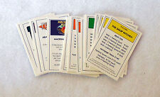 SEINFELD MONOPOLY replacement PARTS pieces TITLE DEED CARDS