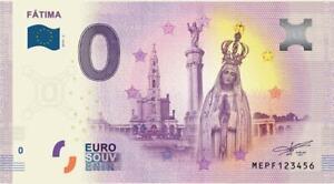 Billet 0 Euro - PRT - Fatima - 2019-2
