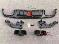 RARE euro NOS MERCEDES W124 1986-1993 Heckleblende Rear Plate Filler Brabus AMG