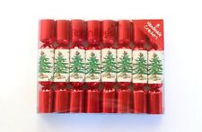 Robin Reed H9 Christmas Holiday 8pc 6in Mini Themed Crackers - Spode Tree
