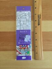 Cities Of The World Coloring Book Marks 5 In Package New Pt-2.32