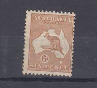 Australia 1932 6d Chestnut Roo SG132 MLH JK3567