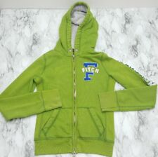 MS&Co Abercrombie And Fitch Green Zip Up Women's Hooded Coat Jacket Size XS