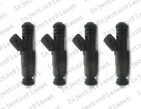 Set of 4 Bosch 0280156095 fuel injector For 2002-2004 Ford  Focus 2.0L 2.3l  L4