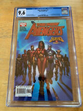 The New Avengers #7 Marvel Comic Book 2005 1st Illuminati CGC 9.6 Beautiful Copy