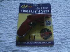 LightKeeper Pro Holiday & Christmas Tree Light Repair Tool w/ 5 Spare Bulbs New