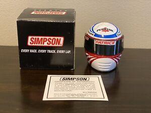 Scott Pruett Signature Edition Simpson Indycar Mini Helmet 1/4 Indy 500