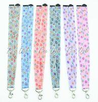 Details about  /Flower LANYARD ID Badge zip reel Breakaway BooJee Bloomsbury Ribbon keychain