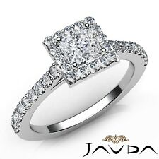 1.7ctw Shared Prong Princess Diamond Engagement Ring GIA J-SI2 White Gold Rings