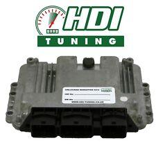 Unlocked ECU IMMO OFF Peugeot 307 1.6 HDI EDC16C 0281011634 remap DPF 9660324180