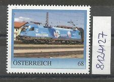 """Österreich PM personalisierte Marke Eisenbahn """"Welcome TAURUS""""  **"""