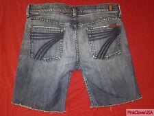 "7 For All Mankind ""Dojo Short"" Womens Denim Jean Shorts size 28"
