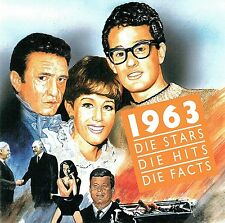 (CD) Die Stars Die Hits Die Facts 1963 - Beatles, Searchers, Brian Hyland, u.a.