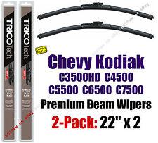 Wipers 2pk Premium 2001-09 Chevy C3500HD C4500 C5500 C6500 C7500 Kodiak 19220x2