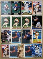 Jeff Bagwell Houston Astros 17ct Card Lot