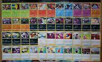 ALLE COMMON+UNCOMMON Weg des Champs komplett 44 Karten Set M/NM Pokemon