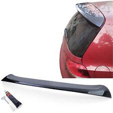Heckspoiler Dachkantenspoiler Schwarz Glanz für VW Golf 6 Limousine 09-13
