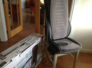 Beurer MG 300 massage chair cover massage chair Bargain used twice