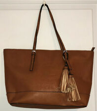 G By Guess Gilman Large Tote Bag/laptop case Cognac excellant condition W269