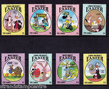 Gambie - 1994 Pâques (Disney) - U / M-SG 1761-8 + MS 1769 (2)