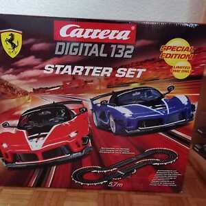 Carrera Digital 132 Starter Set Special Edition Ferrari 30014 (ohne Fahrzeuge!)