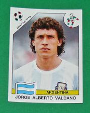 N°132 VALDANO ARGENTINA PANINI COUPE MONDE FOOTBALL ITALIA 90 1990 WC WM