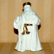 Lenox Santa Claus Figurine Ivory With Gold Trim 5""