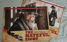 SDCC The Hateful Eight Movie Print Quentin Tarantino Samuel Jackson Kurt Russell