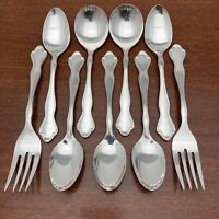 Vintage 1968 COSMOPOLITAN Silverplate Flatware 9 Pieces by Reed & Barton