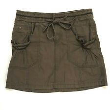 Catch My I size 5 skirt Brown cargo 100% cotton #A30