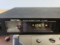 Antique ROTEL RT-850A AM/FM Stereo Tuner