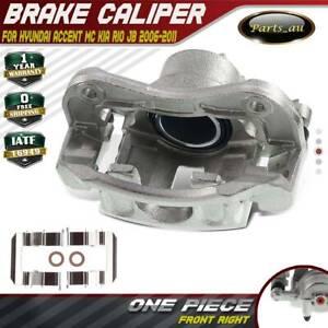 Brake Caliper w/ Bracket Front Right for Hyundai Accent MC Kia Rio JB 2006-2011