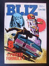 BLIZ 1978 n° 10 - OTTIMO CON POSTER FORMULA UNO  BRABHAM- ALFA BT 45C