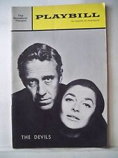 THE DEVILS Playbill JASON ROBARDS / ANNE BANCROFT / JAMES COCO Opening NYC 1965