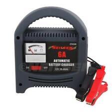 Heavy Duty 6 A Amp 12 V 6 V Batería Cargador Goteo Booster coche vehículo 0-80AH