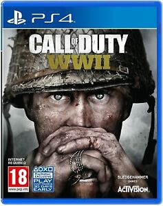Call of Duty: WWII (Playstation 4 PS4) Great Condition