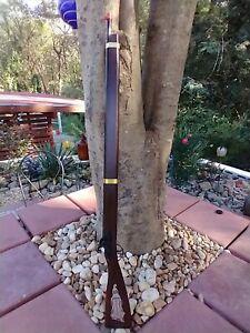 "Replica by Parris Kentuckian Orange Cap Savannah TN. Wood Metal Toy Rifle 37.5"""