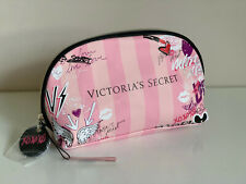 NEW! VICTORIA'S SECRET VS GRAFFITI GLAM COSMETIC MAKEUP TRAVEL POUCH BEAUTY BAG