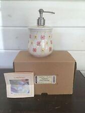 New ListingLongaberger Dogwood Pottery Soap / Lotion Dispenser Brand New In Box