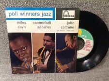 FRENCH EP MILES DAVIS - CANNONBALL ADDERLEY - JOHN COLTRANE - 467219