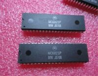 1Pcs Peripheral Interface Adapter MC6821P MC6821 DIP-40 Ic New vs