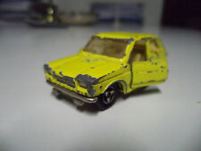 Majorette 1/55 Nr. 203 Fiat 127 GIALLA #419
