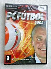 JOYA VINTAGE! JUEGO PC FÚTBOL 2006. ESPAÑA, PAL. NUEVO Y SELLADO!