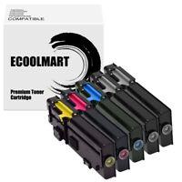 5PK Toner Cartridge for DELL 2660 C2660dn C2665dnf Color Laser Printers