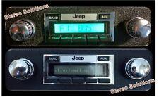 '78-86 Jeep CJ 5, CJ 7, Scrambler 200 watt AM FM Stereo Radio, Aux Input
