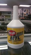 Red Line Oil 50204 GEAR OIL - MANUAL TRANS MTL GL-4 70W80 (SAE 75W80) 4 QUARTS