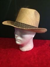 Men's Size 7 KOKO KOOLER Roper Western Cowboy Straw Hat St. Louis Missouri USA