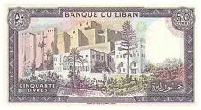 50 Livres Banknote - Lebanon - Uncirculated Pick 65D