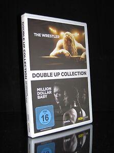 DVD THE WRESTLER & MILLION DOLLAR BABY - CLINT EASTWOOD + MICKEY ROURKE * NEU *